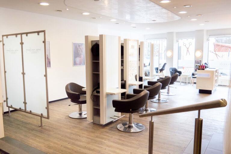 Frisierplätze im Salon von Inga Neufang Hair & Styling
